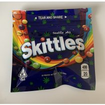 Skittles Seattle mix - 400mg