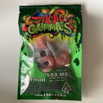 DANK GUMMIES Sour Keys 500mg