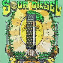 Super Sour Diesel Co2 Oil (rechargeable)