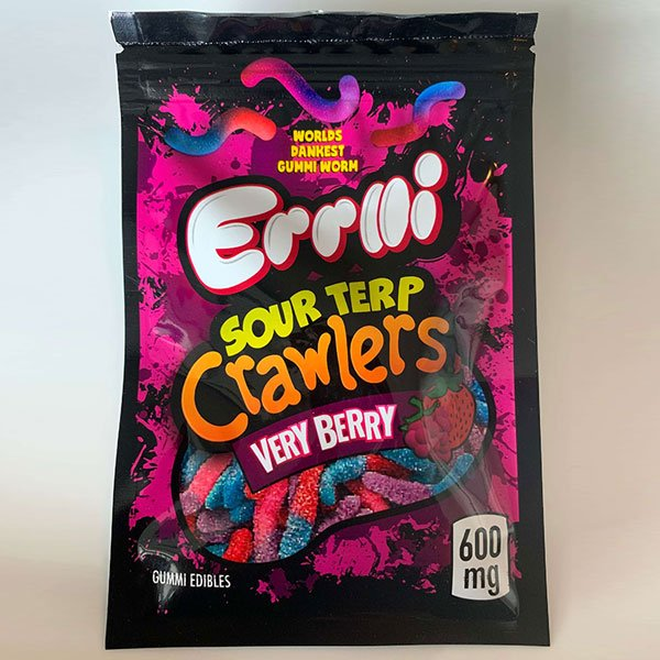 Sour Terp Crawlers - Very Berry - 600mg